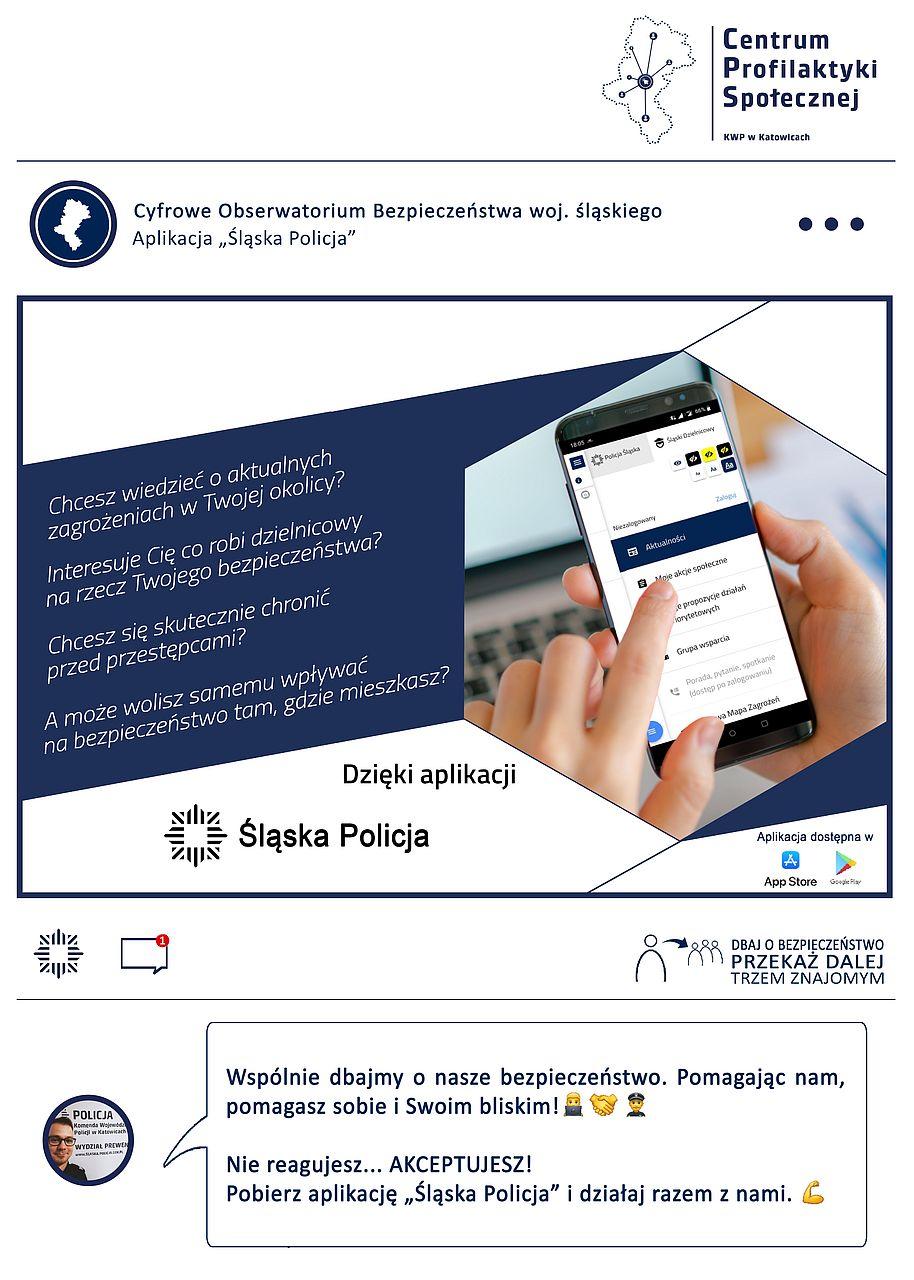 Plakat Centrum Profilaktyki Społecznej