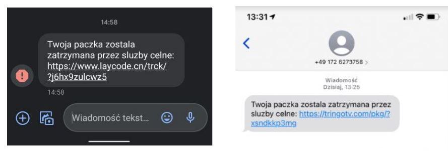 grafika-screen sms wiadomości tekstowej z telefonu
